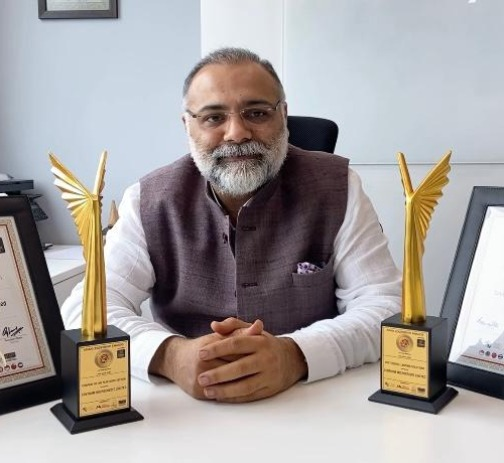 """Centrum Microcredit Limited, Awards, Awarded """"Company of the Year in NBFC Sector"""" and """"Best Digital Lending Solutions"""" by Asian Leadership Awards"""